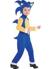 Little Boys Sonic Jumpsuit Costume - Sonic the Hedgehog  sc 1 st  Pinterest & Little Boys Sonic Jumpsuit Costume - Sonic the Hedgehog | Baby stuff ...