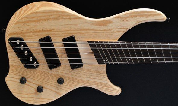 Dingwall Bass Guitars:: ABZ 5 string bass, Natural, Ash/Maple :: Custom hand made basses, exclusively at Bassdirect, Warwick