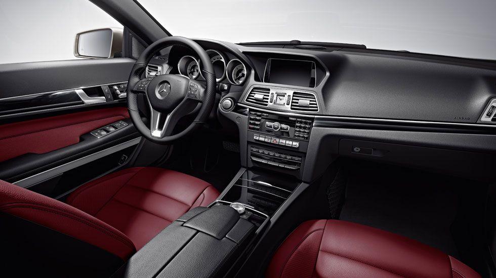 Mercedes Benz E Class Coupe Interior 2014 Mercedes Benz