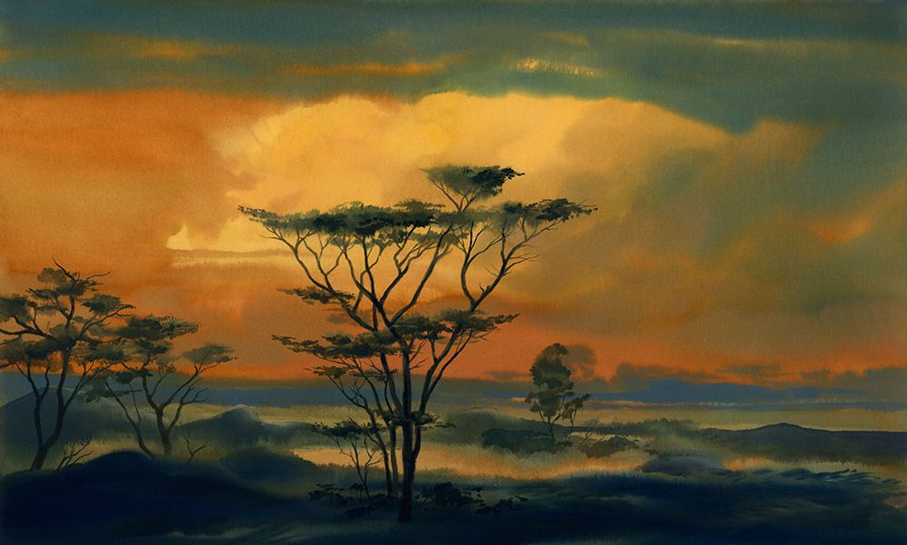 Visual Development from The Lion King