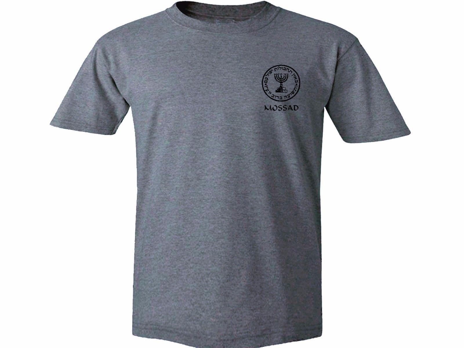 Israeli Martial Arts Krav Maga English//Hebrew MMA black long sleeves t-shirt