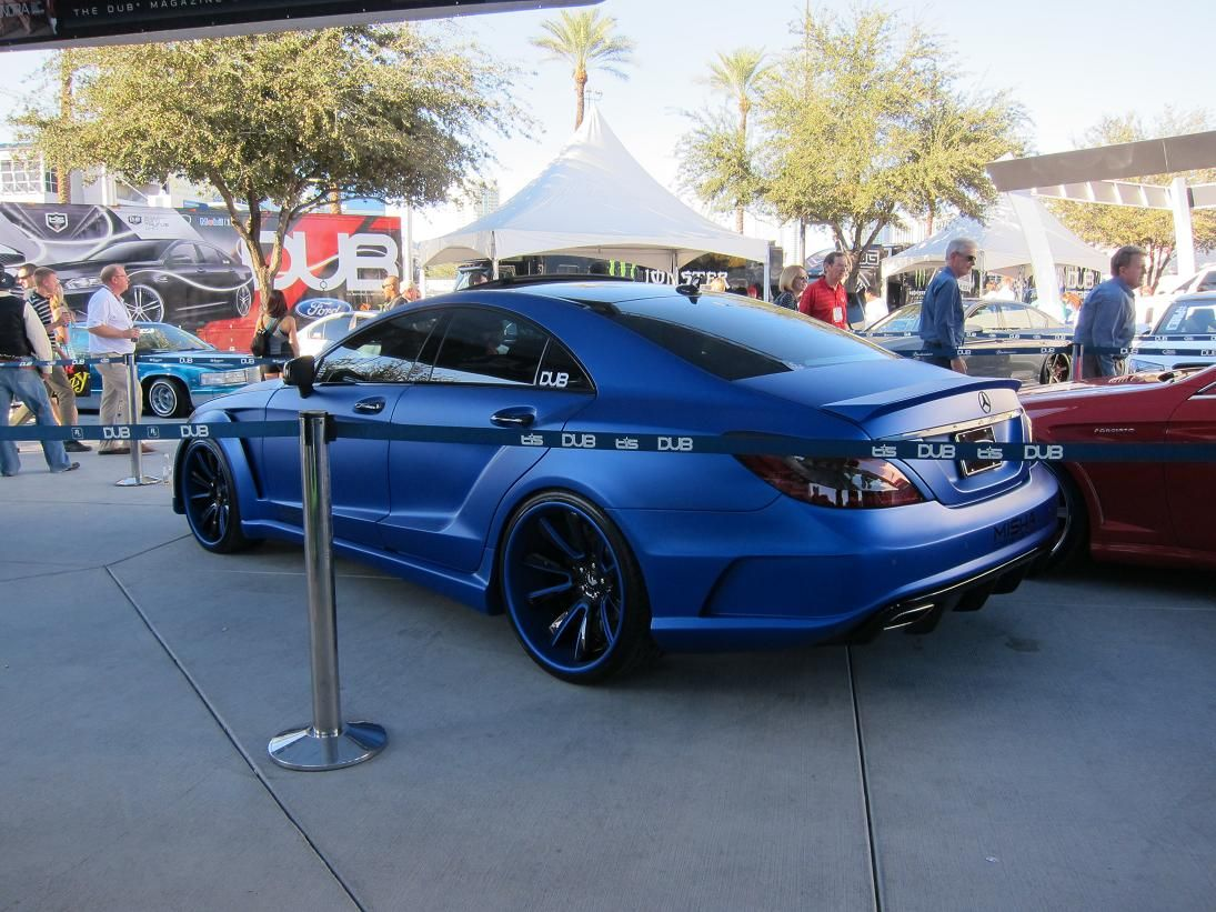 Mercedes-Benz CLS-M MISHA Design Extreme Wide Body Kit | Cars and ...
