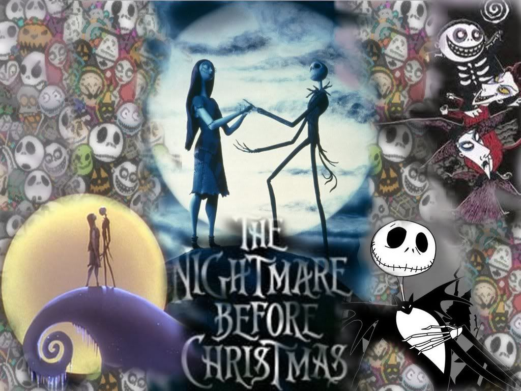 Nightmare Before Christmas Wallpaper | Jack and Sally ...