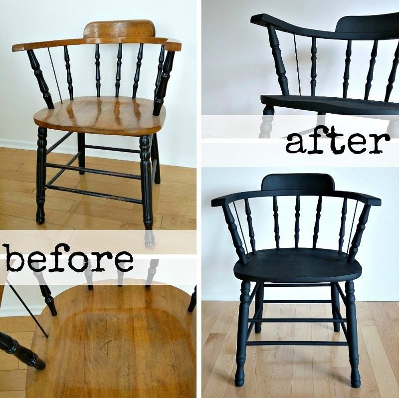 relooker un meuble ancien avec de la peinture id es supers pinterest chaises antiques noir. Black Bedroom Furniture Sets. Home Design Ideas
