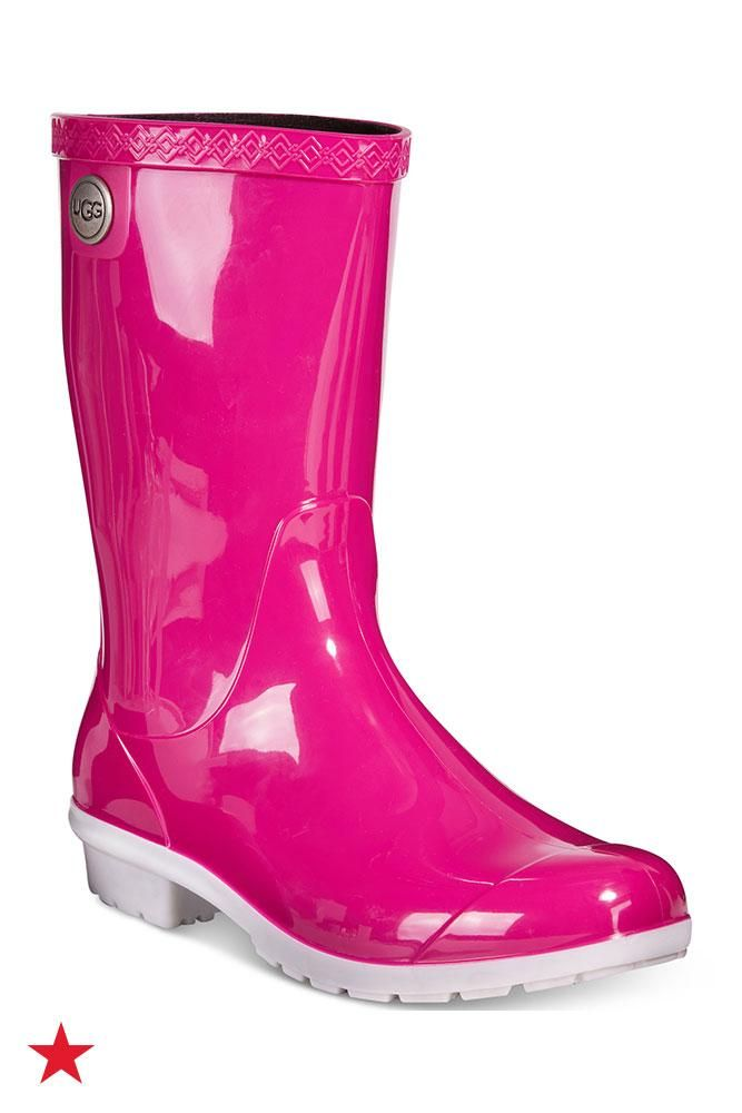17d34ed95cc Don't let big, clunky rain boots ruin your out t! Opt for these neon ...