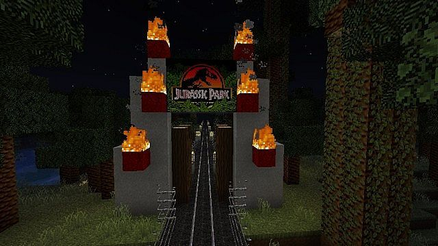 Jurassic+Park+Texture+Pack+for+Minecraft+Download