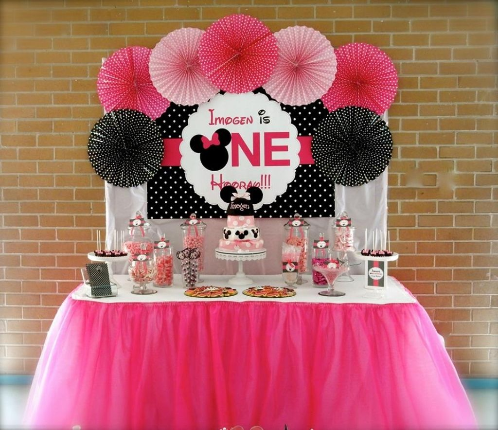 Minnie Mouse Decorations On Pinterest Minnie Mouse Party