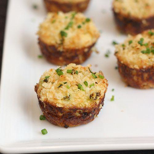 Baked mini crab cake appetizer recipe