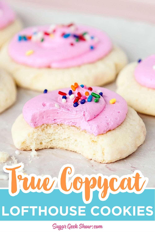 Authentic Copycat Lofthouse Cookie Recipe Copycat Sugar Geek Show Recipe In 2020 Lofthouse Cookie Recipe Soft Sugar Cookie Recipe Copycat Lofthouse Cookie Recipe