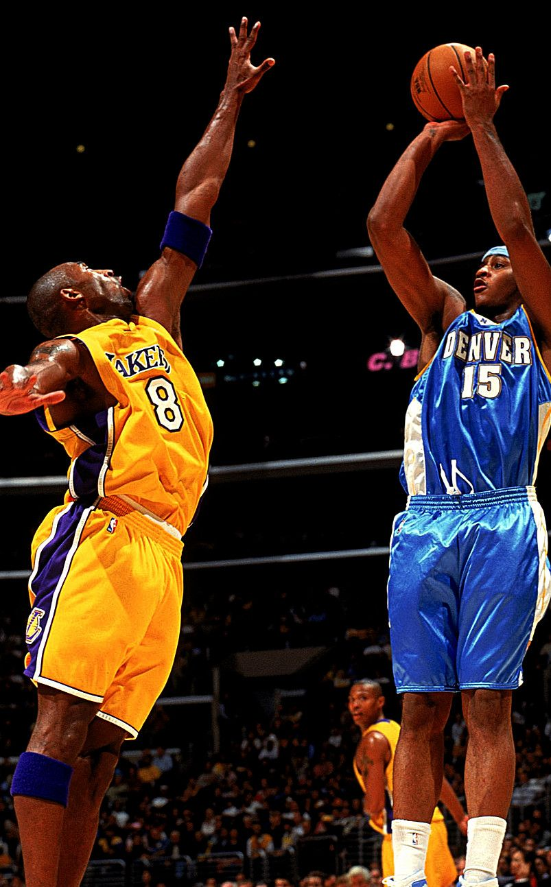 Kobe Said Himself That Melo Is One If The Hardest Players He Ever Had To Guard Carmelo Anthony Kobe Bryant Pictures Kobe Bryant