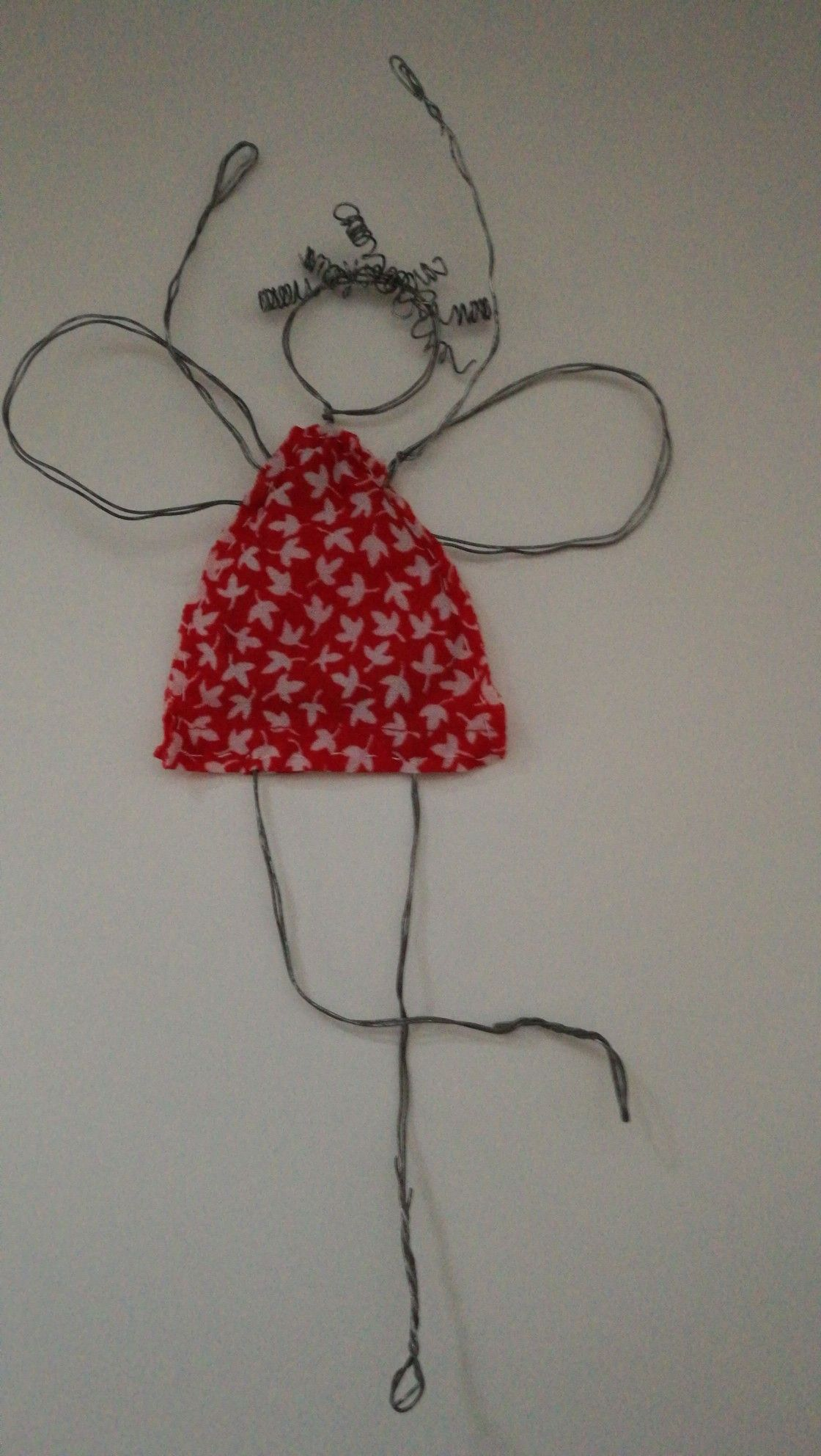 Fröhlicher Draht Engel * Happy Wire Angel | Projects to Try ...