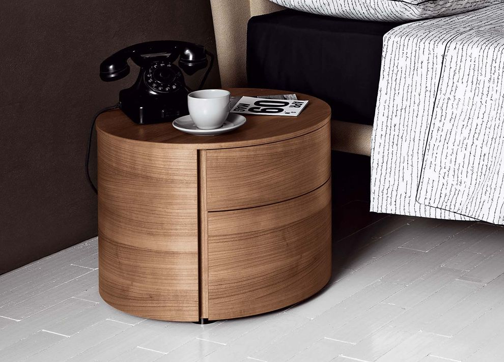 Best Tempo Around Bedside Cabinet Side Tables Bedroom Wood 400 x 300