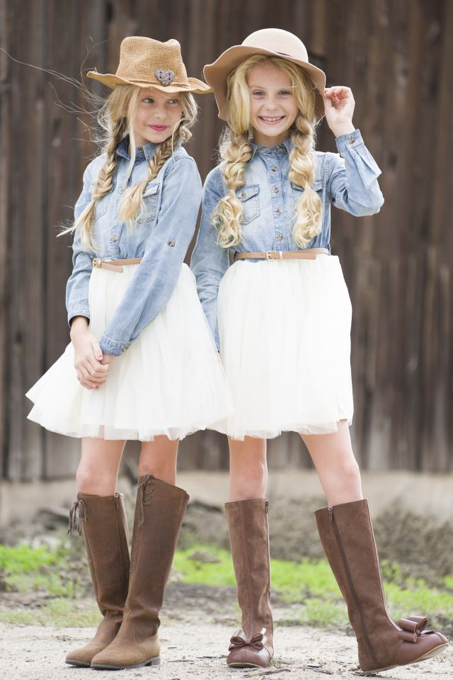 19f8864ba81 Denim & Tulle | country style | Tween fashion, Dresses for tweens ...