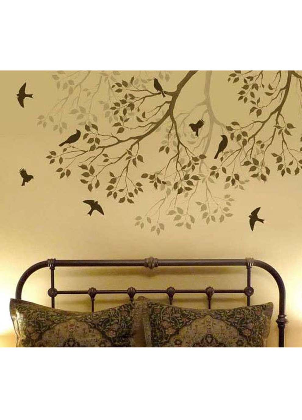 Removable Surface Art Best Sellers Tree Branch With Songbirds ...