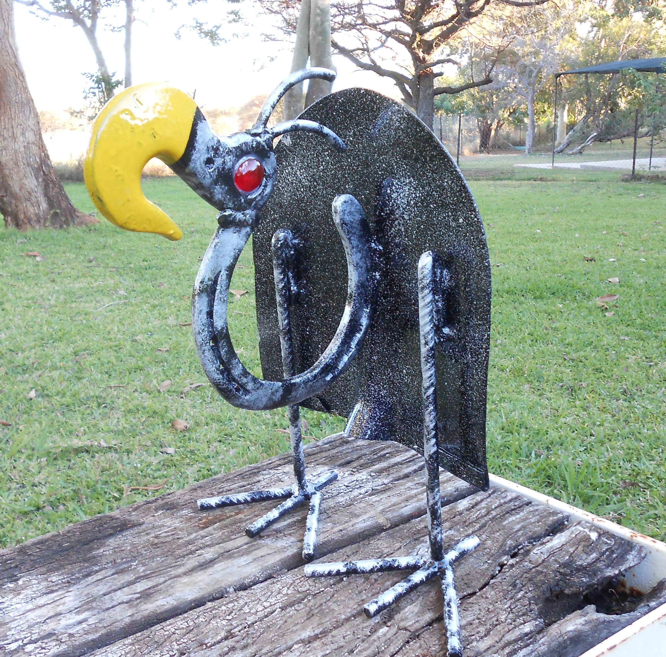 Scrap Metal Vulture Made This From An Old Spade And