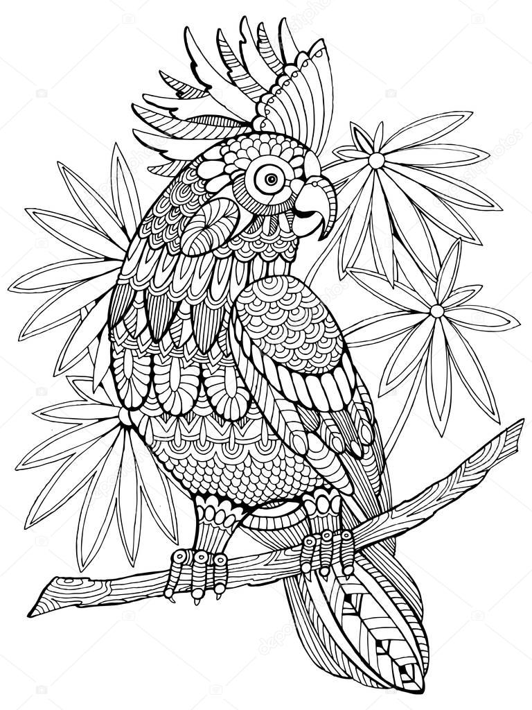 Kolorowanki Dla Doroslych Kwiaty Google Search Bird Coloring Pages Animal Coloring Pages Unicorn Coloring Pages