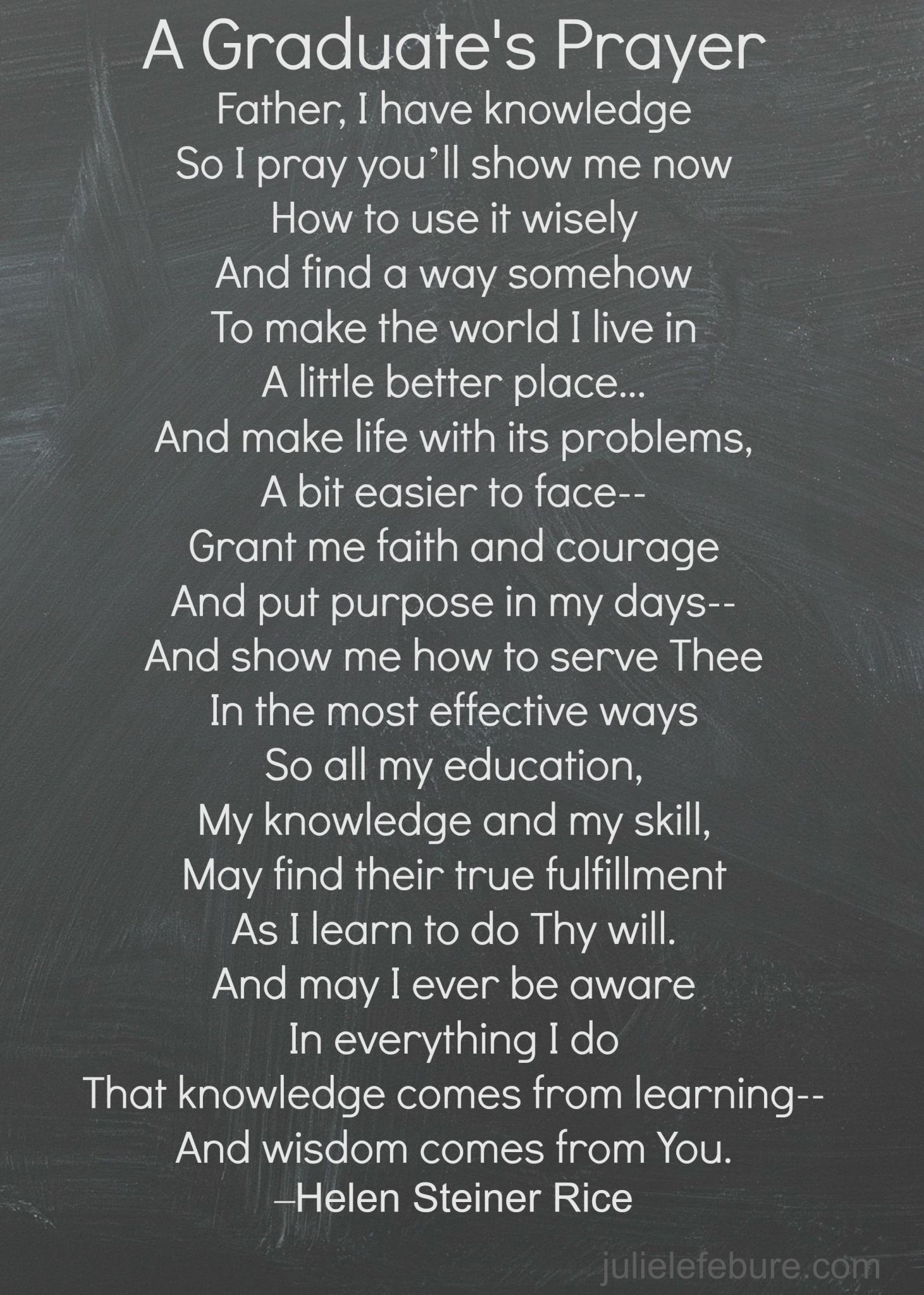 A Graduate's Prayer - Julie Lefebure | Fashion | Pinterest ...