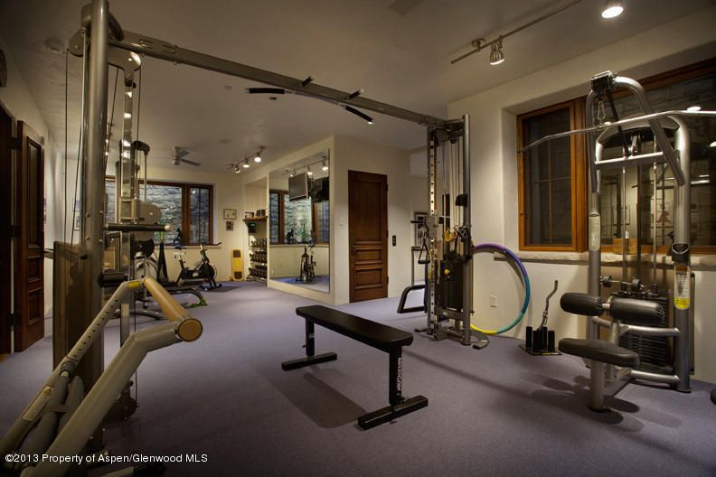 Any Area Of Your Home Can Be Optimized For Fitness Woody Creek