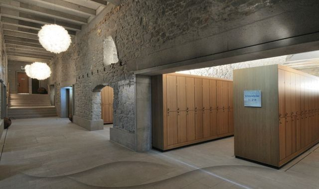 Thermalbad Zürich Umwandlung einer Brauerei in einem Spa - modernes design spa hotel
