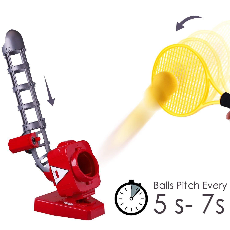 Ball Pitching Game Machine, Baseball, Tennis, Training