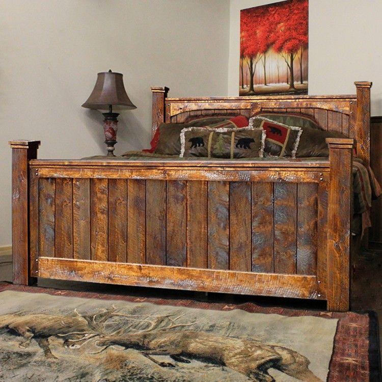 Elegant Autumn fort Rustic Barnwood Bed Top Search - Inspirational barnwood bedroom furniture Elegant