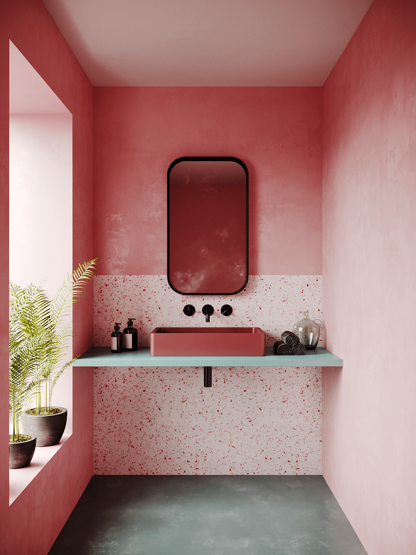 Photo of This Petite Space Convinced me I Need a Pink Bathroom