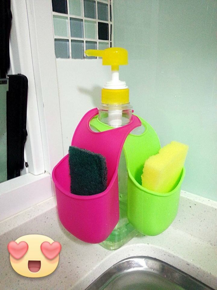 Kitchen Sink Caddy Diy Sponge Holder