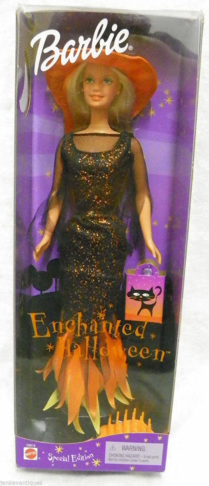 Enchanted Halloween Barbie Doll 2000 Mattel - NRFB   eBay