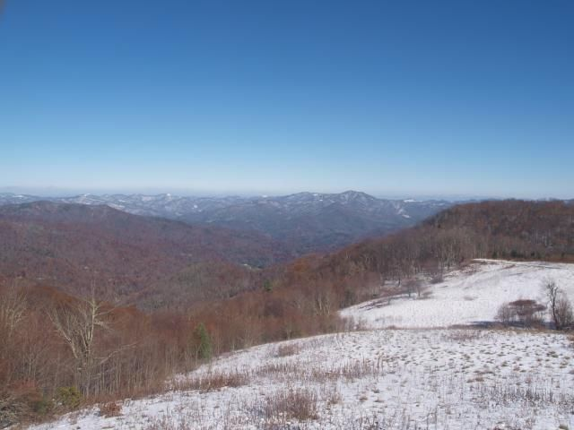 View from Purchase Knob Looking Northeast  #Smoky #Mountains