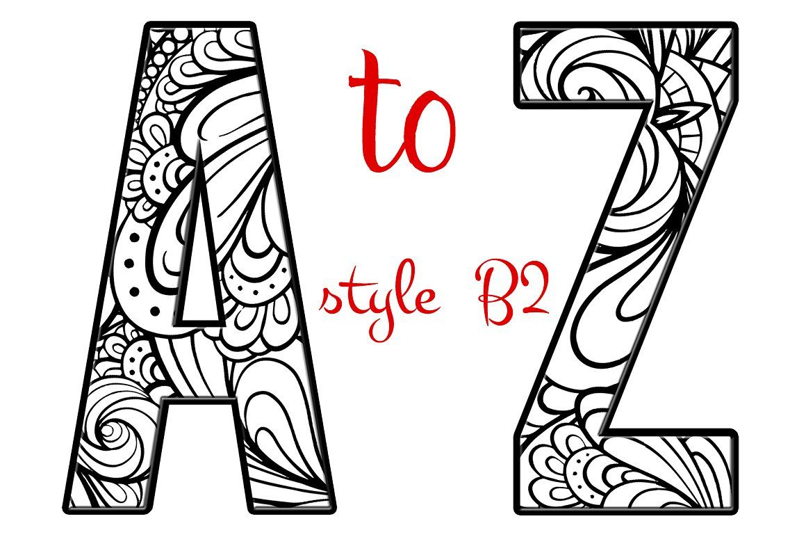 Coloring Letters Of The Alphabet B2 Coloring Letters Alphabet Coloring Pages Coloring Pages
