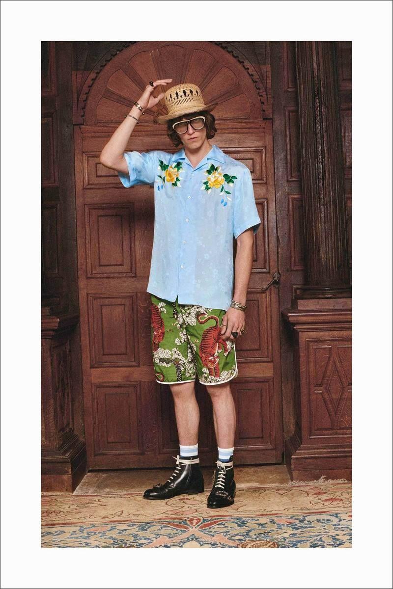 3e3d832e4b Gucci Resort 2017 Collection  Menswear  Trends  Tendencias  Moda Hombre -  M.F.T.