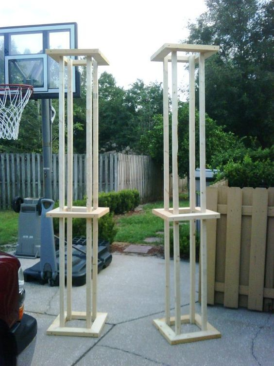 Use these as a frame for columns Stage - Set Desigh Pinterest - diy outdoor halloween props