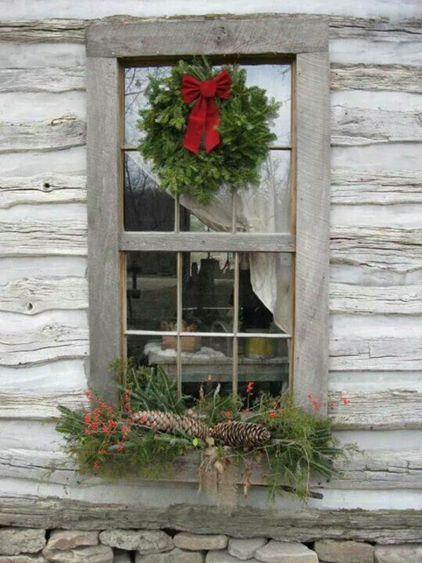hervorragend Pinterest Weihnachtsdeko Fenster Part - 5: fensterdeko-weihnachten-weihnachtsdeko-fenster-dekorieren-von-außen