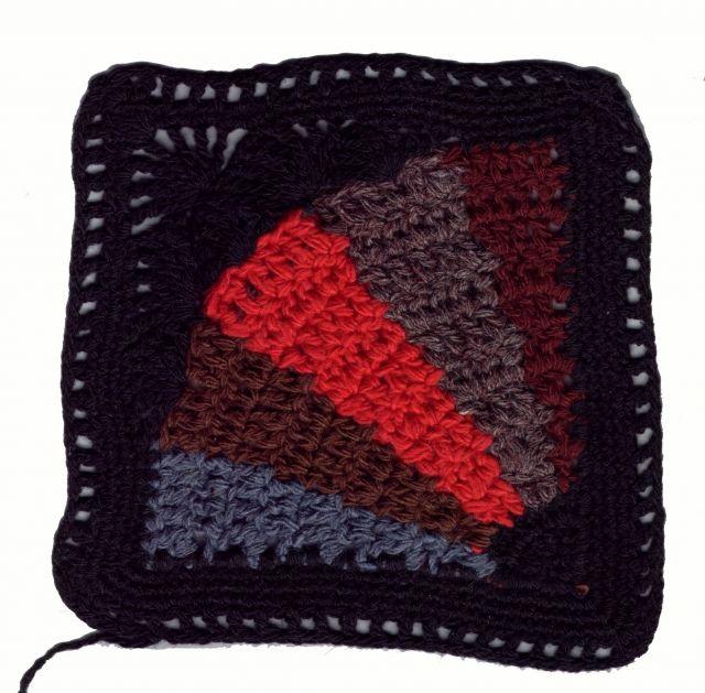 Patrones Crochet: Manta con Punto en Espiral Patron http ...