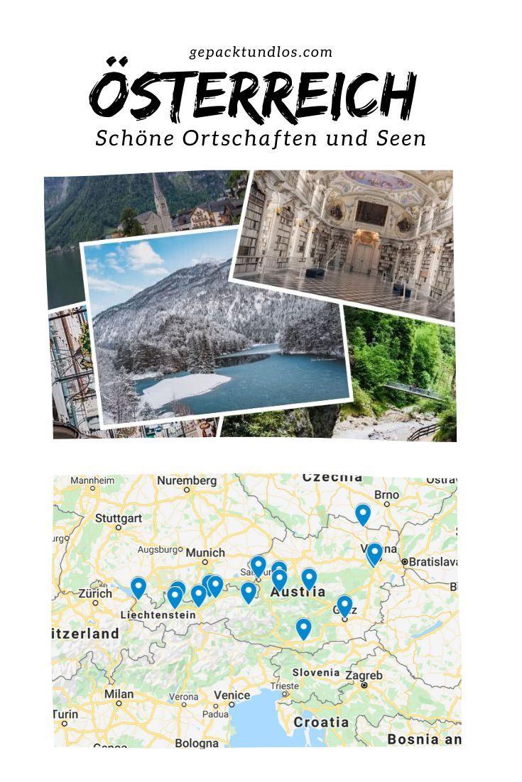 #urlaub #österreich #wandern #schönste #orte #roadtrip Hier erfährst du, welche die schönsten Städte und Orte in Österreich sind  empfohlen von Reisebloggern. ...