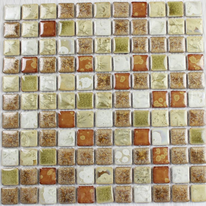 Glazed Porcelain Square Mosaic Tiles Wall Designs Ceramic Tile Flooring Kitchen Backsplash Ju 669 Ceramic Tile Floor Kitchen Mosaic Tiles Kitchen Flooring