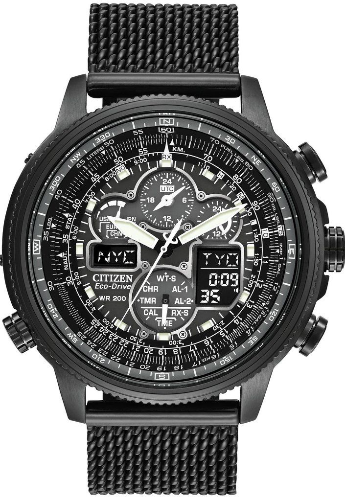 3504fdfe0 @CitizenWatchUK Eco Drive Navihawk A.T WR200 #2015-2016-sale #add-content # alarm-yes #bezel-fixed #black-friday-special #bracelet-strap-black-pvd ...