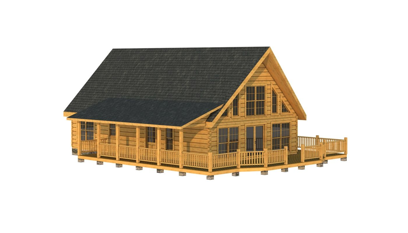 Gibson Log Cabin Floor Plan Southland Log Homes Chalet Bois Chalet Bois