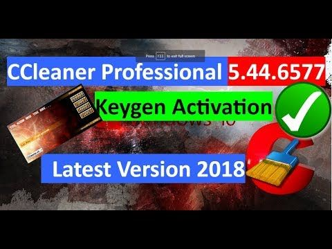 ccleaner professional activated