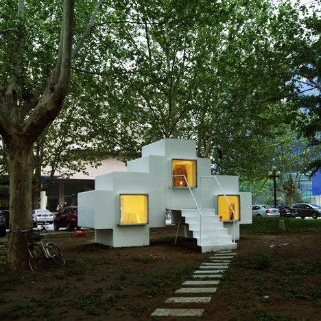 13 Strange And Beautiful Examples Of Mobile Residences Refuges And Retreats From The Pages Of Dezeen Including A Micro House Small House Architecture House