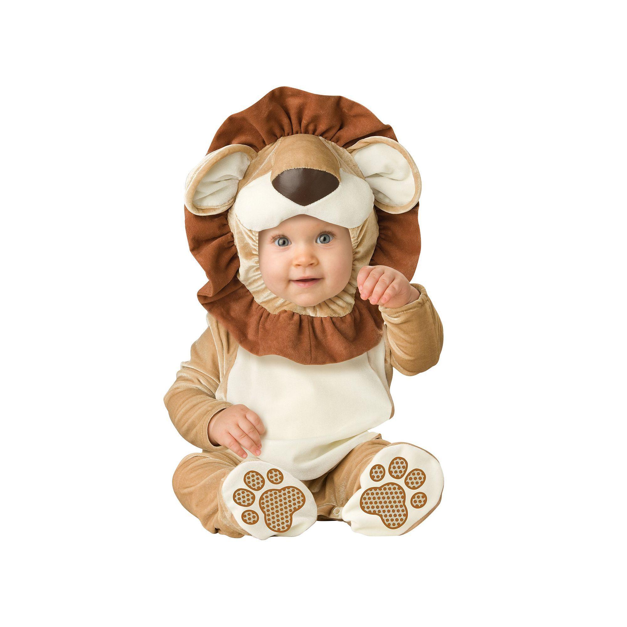 lovable lion costume infant unisex size 12 18 month multicolor