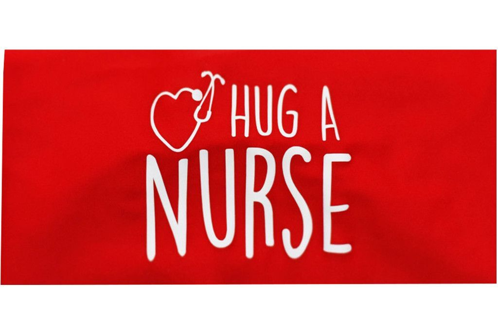 Hug A Nurse Red