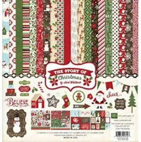 Echo Park The Story of Christmas Kit scrapbook stuff i want