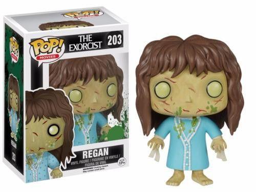 Regan The Exorcist Der Exorzist Horror Pop Spielzeug Movies #203 Vinyl Figur Funko
