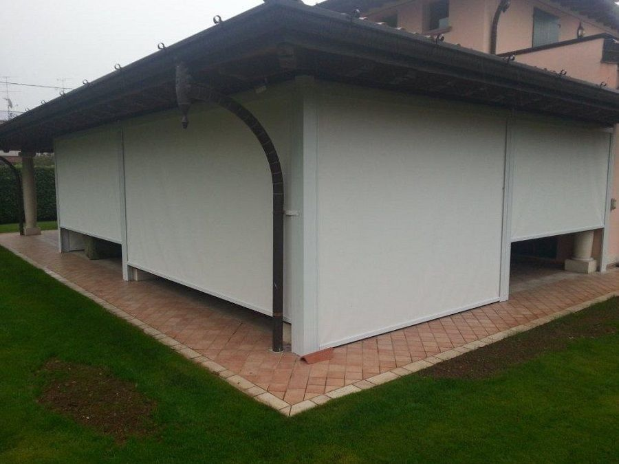Tende Frangivento Per Chiudere Portico Terrazzo Balconi Verande