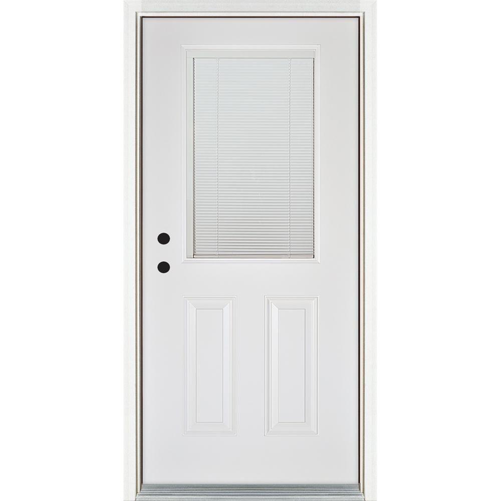 Mp doors in x in lowe blinds between glass classic lite