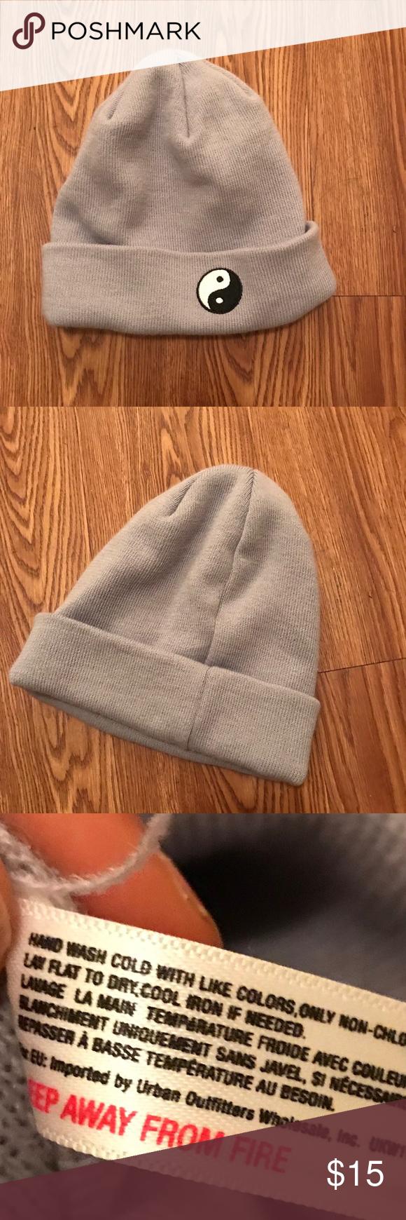 Urban Outfitters Yin Yang Beanie Hat Beanie Hats Urban Outfitters Yin Yang