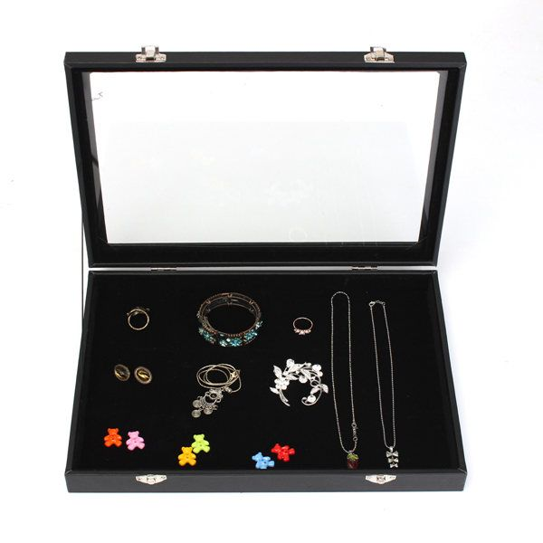 Sale 21 94 Large Jewelry Tray Storage Box Necklaces Earrings