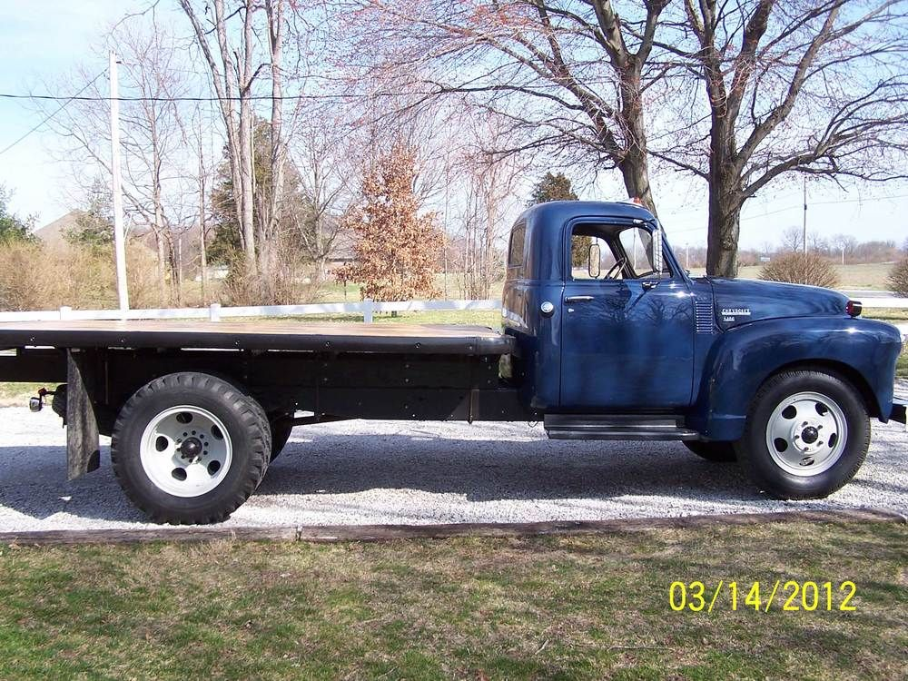 Rich Franklin & his '49 Chevy 6400 2 Ton Chevrolet
