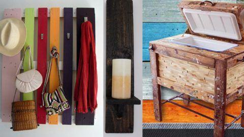 31 More Cool DIY Pallet Furniture Ideas | DIY Joy Projects and Crafts Ideas